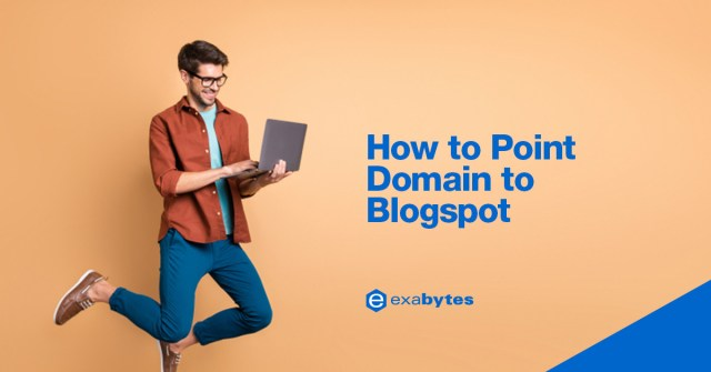 how to point domain to blogspot