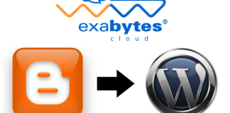 Exabytes Tutorial - Moving Blogspot to Wordpress