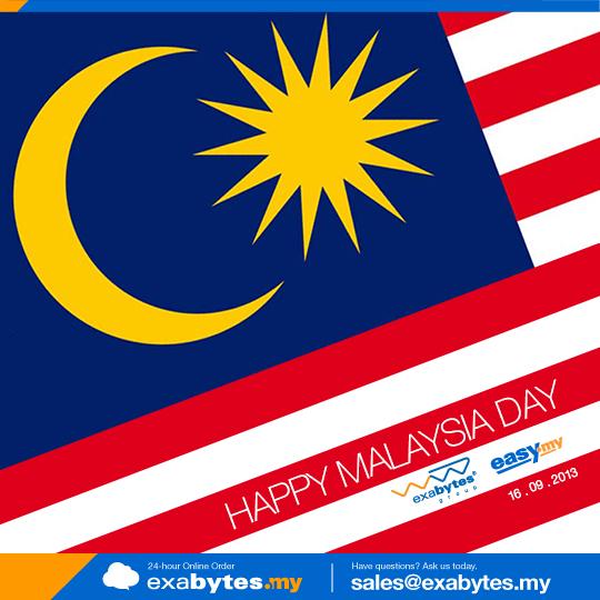 Happy Malaysia Day 2013