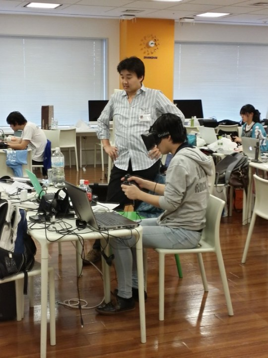 Exabytes At Oculus Game Jam Japan 2013