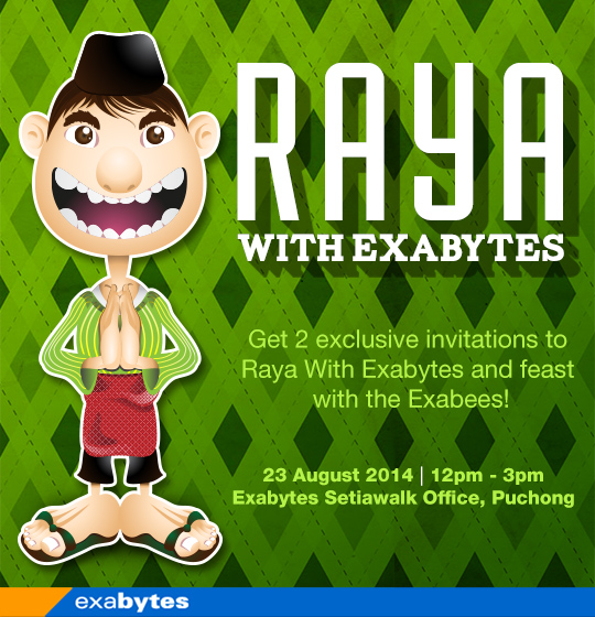 Raya with Exabytes