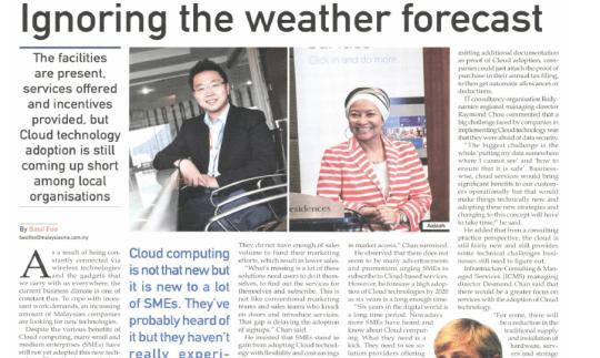 Ignoring the weather forecast