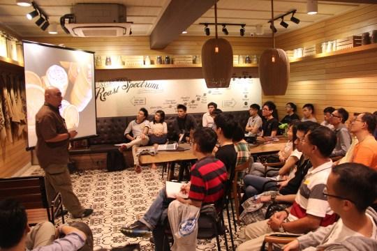 8th edc gathering at Starbucks Burma Road, Penang