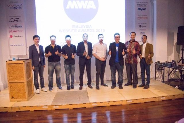 Malaysia Website Awards (MWA) 2016 sponsors and judges