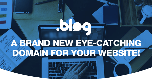 .blog - a brand new eye-catching domain for your website