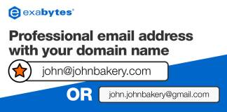 professional email address