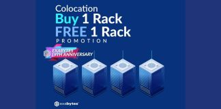 Server Colocation buy 1 free 1 promo