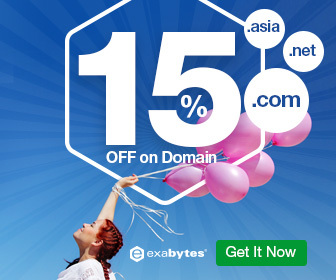Domain 15% OFF