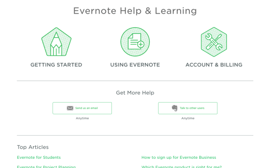 Everynote Knowledge Base