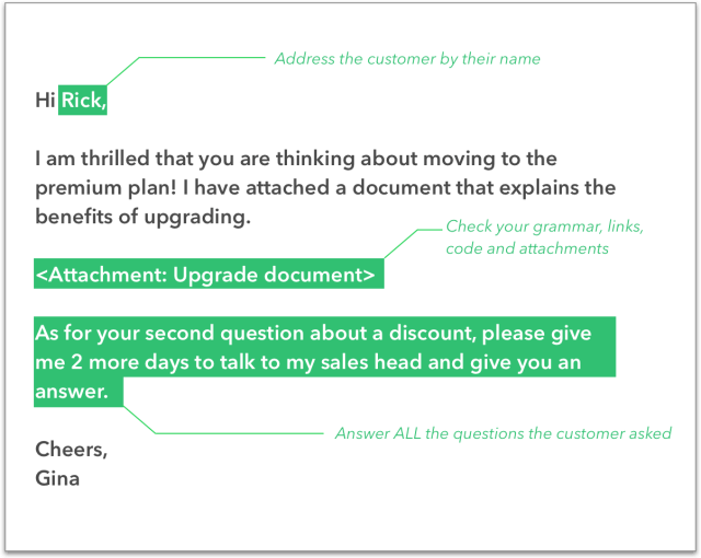 ATTACHMENT DETAILS Support-email-checklist-template-3