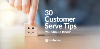 30 Customer Serve Tips You Should Know