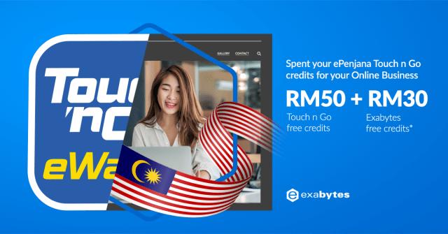 ePenjana RM50 and Exabytes RM30 free credits