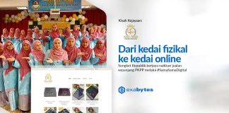 Exabytes Customer Success Stories : Songket Republik