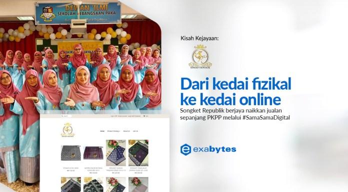 Exabytes Customer Success Stories : Songket Republik