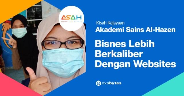 Exabytes Customer Success Stories : ASAH