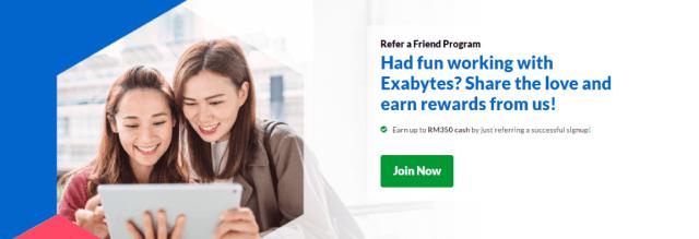 Exabytes Malaysia Refer a Friend Program