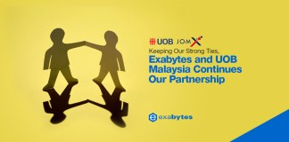 Exabytes and UOB Malaysia Continues Our Partnership