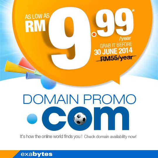 domain promo .com