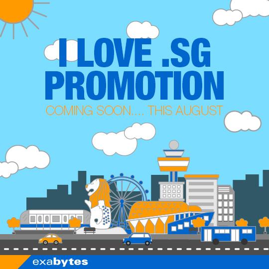 I love .sg promotion