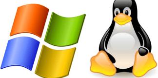 Linux Windows logo