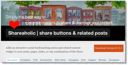 Shareaholic | Share buttons & related posts