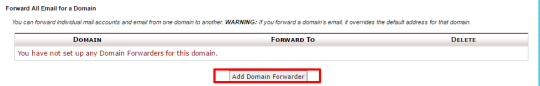 domain forwarders-step 3