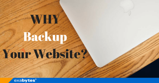 WHY Backup Your Website