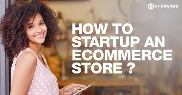 startup ecommerce store blog