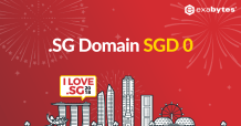 Register a SG Domain Name Free for first year!