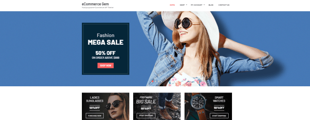 Best WordPress Themes for Beginners - eCommerce Gem