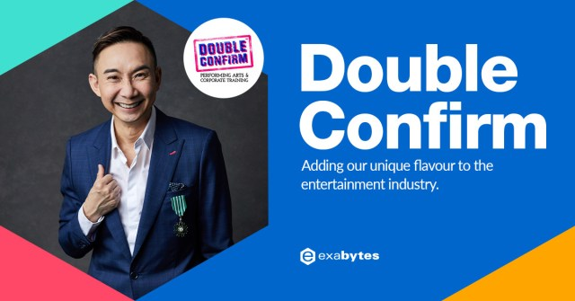 Hossan Leong, Founder of Double Confirm Productions Pte Ltd, Co-founder of Double Confirm Arts & Media Sdn Bhd