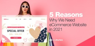 5 Reasons Why You Need an eCommerce Website In 2021