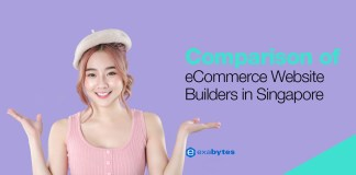 Comparison of eCommerce Website Builders in Singapore
