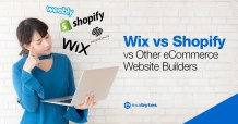 Wix vs Shopify vs Other eCommerce Website Builders