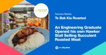 An Engineering Graduate Opened His Own Hawker Stall Selling Succulent Roasted Meat