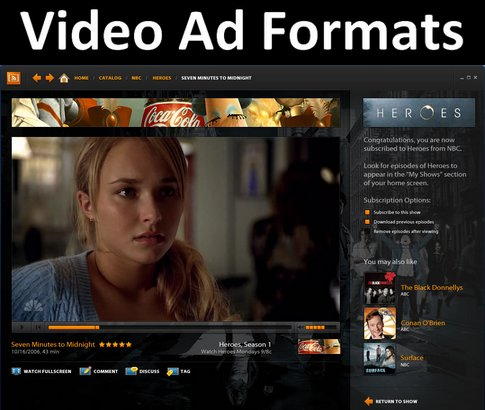 Types of Online Video Advertising