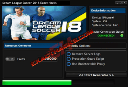 Dream League Soccer 2018 Natančni Hacks