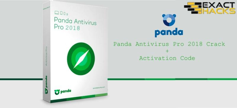 Panda Antivirus Pro 2018 fenda + Código de ativação