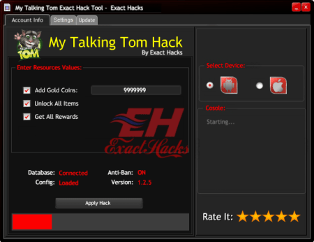 My Talking Tom Exact Hack-Tool
