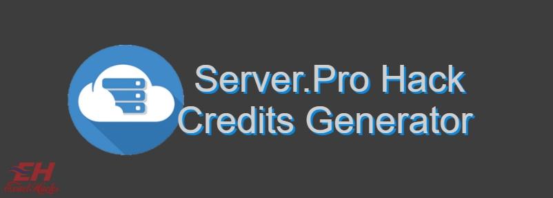 Server.Pro Hack Generator kredit 2019