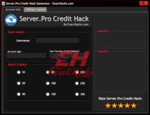 Server.Pro Credits Hack jenareta 2018