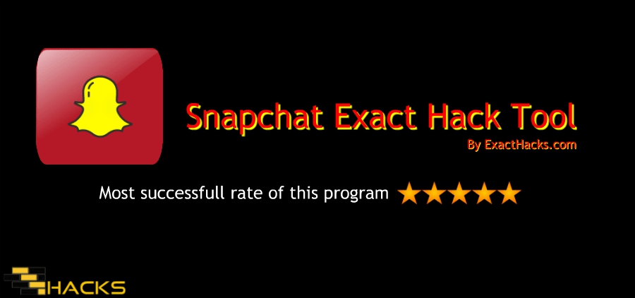 Snapchat Exact outil Hack 2019