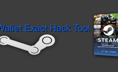 Steam Wallet Exact Hack Tool-2018