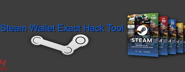 Steam Wallet Exact Hack Tool 2020