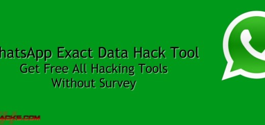 WhatsApp Exact Data Hack Tool 2018