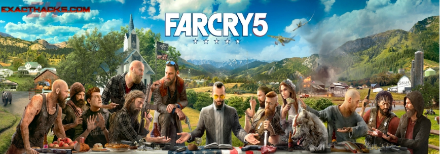 Far Cry 5 מחולל מפתח (Xbox One-PS4-PC)