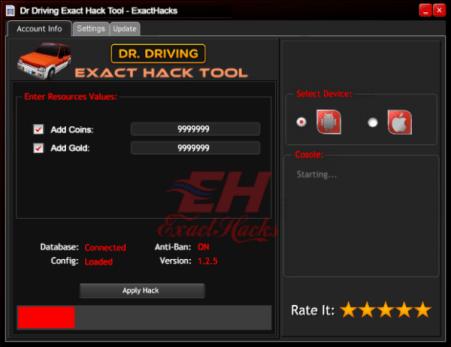 Dr. Vožnja Točan Hack Tool