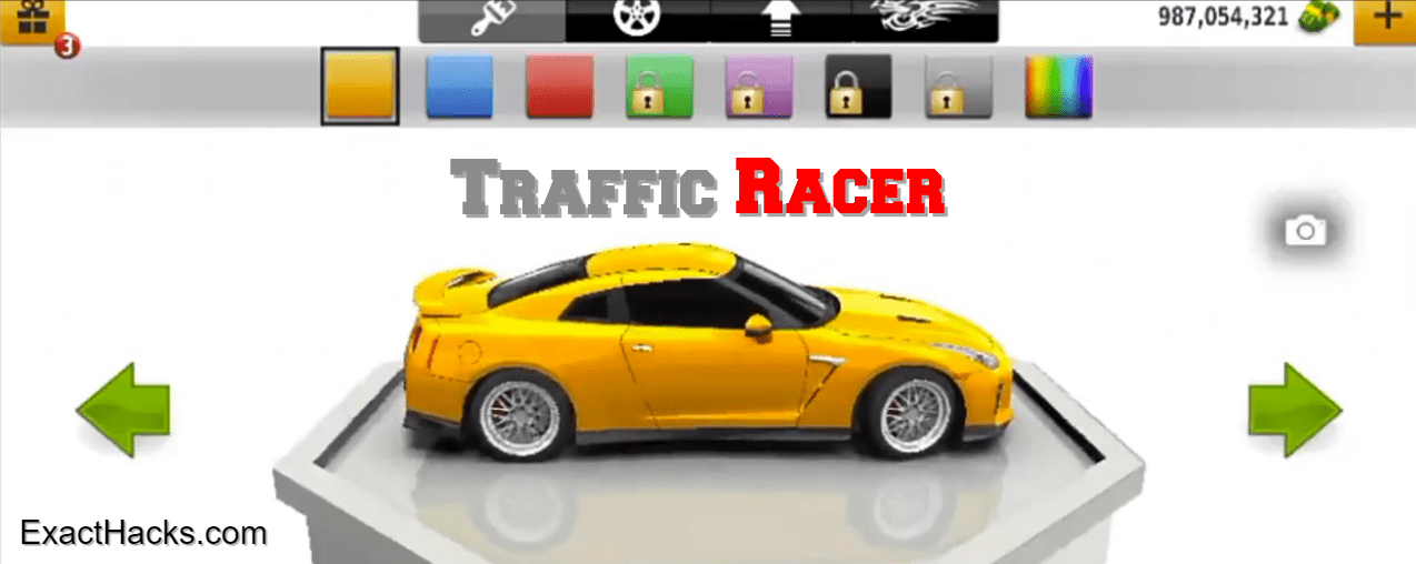 Traffic Racer Mod APK v3.35.0 Money illimitée