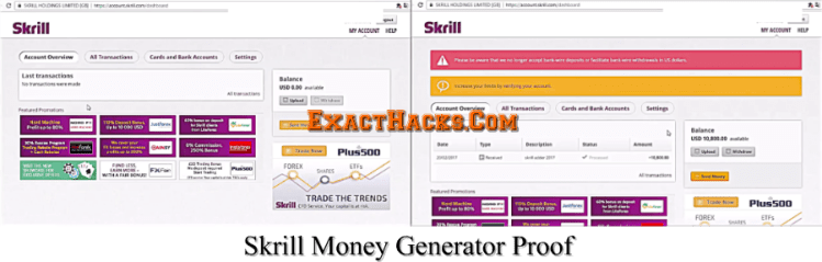 Skrill Money Generator [Zmije]