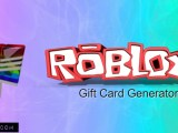 Roblox Gift Card Generator 2019